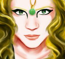 The high priestess by Kagara