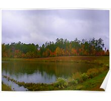 Fall Pond Color by Jonathan Green Poster