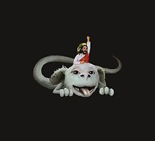 Neverending Story Jesus by karnmaster