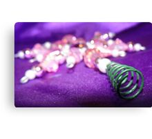 Christmas Bling Canvas Print