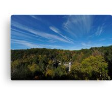 Foster Falls, Tennessee Canvas Print