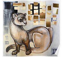 Animalia IV: Black Footed Ferret Poster