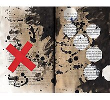Altered Book 19 Photographic Print