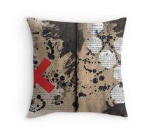 Altered Book 19 Throw Pillow