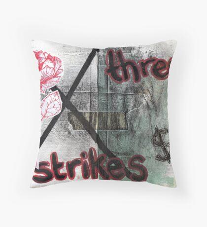 Altered Book 18 Throw Pillow
