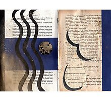 Altered Book 16 Photographic Print