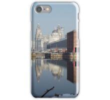 Albert Dock Reflection iPhone Case/Skin