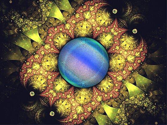 Spherical: Fireman's Net Lone Jewel  {UF0495} by barrowda