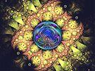 Spherical: Fireman's Net Five Jewels  {UF0496} by barrowda
