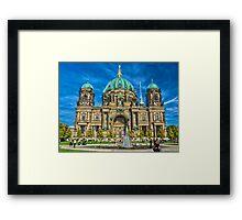 Berliner Dom - Berlin cathedral Framed Print
