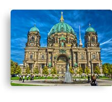 Berliner Dom - Berlin cathedral Canvas Print