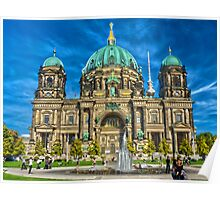 Berliner Dom - Berlin cathedral Poster