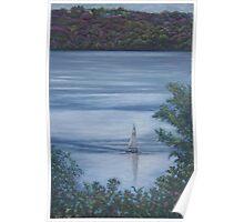 Sailing on Big Stone Lake Poster