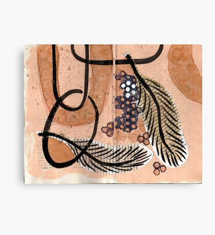 Altered Book 1.5 Canvas Print