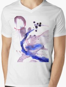 Oil and Water #64 Mens V-Neck T-Shirt
