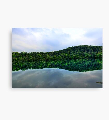 Nature's Mirror Canvas Print