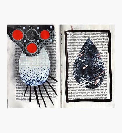 Altered Book 3.5 Photographic Print