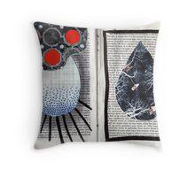 Altered Book 3.5 Throw Pillow