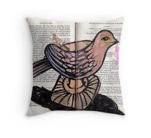 Altered Book 8 Throw Pillow