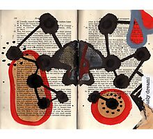 Altered Book 7 Photographic Print