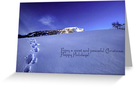 Quiet and Peaceful Christmas by Sabine Jacobs