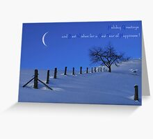 Holiday Greetings! Greeting Card