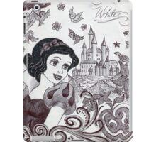 Monochrome Princess SW iPad Case/Skin