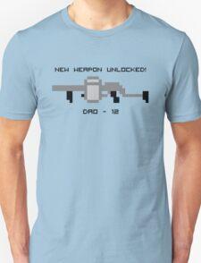 New Weapon Unlocked! DAO-12 Unisex T-Shirt