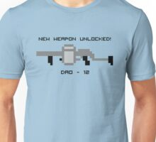 New Weapon Unlocked! DAO-12 Unisex T-Shirt