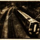 The 16:04 from Haymarket Station - Vintage by Den McKervey