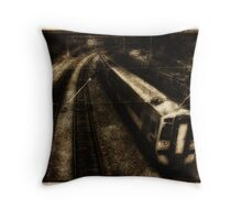 The 16:04 from Haymarket Station - Vintage Throw Pillow