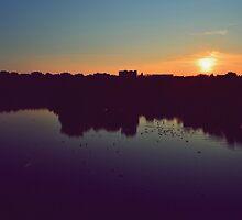 Beautiful sunset by Geta