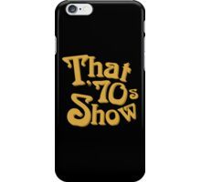 That '70s Show Logo iPhone Case/Skin