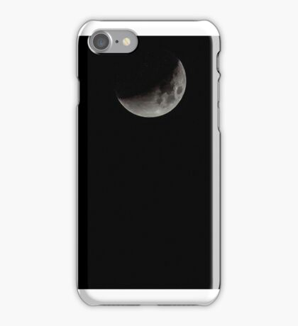 Super Blood Moon composite 2015 iPhone Case/Skin
