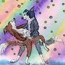 No dog could equal her passion for ballroom by SusanAlisonArt