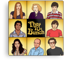 That '70s Bunch (That '70s Show) Metal Print