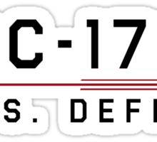 ST Registry Series - Defiant Classic Logo Sticker