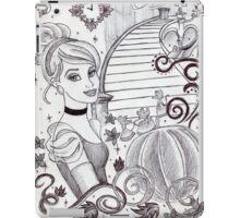 Monochrome Princess C iPad Case/Skin