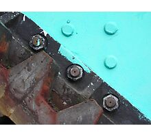 Vital cog? Solved by Bubblehex ~ Poole Lifting Bridge Photographic Print
