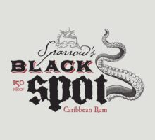 Sparrow's Black Spot Caribbean Rum by mannypdesign