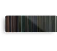 Moviebarcode: Harry Potter: Complete Series (2001-2011) Metal Print