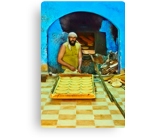 The Baker Canvas Print