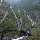 Trollstigen Road by JamesTH