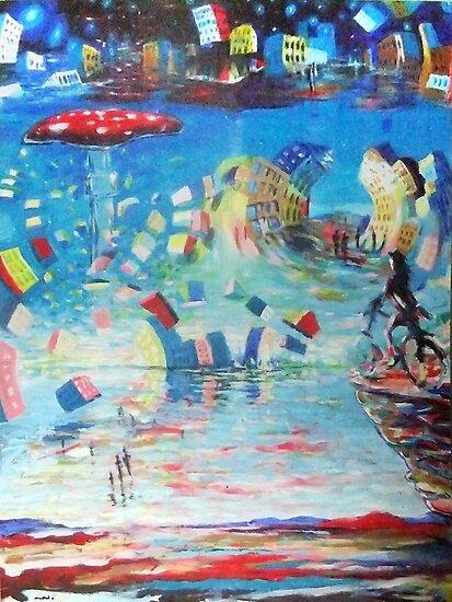le cycliste fantastiques by Calgacus
