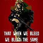 War Poster by HeatWave