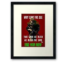 War Poster Framed Print