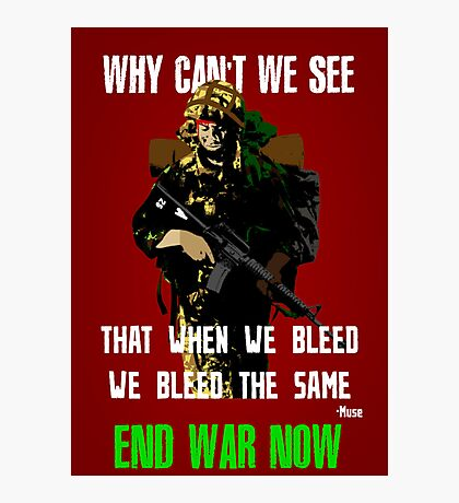 War Poster Photographic Print