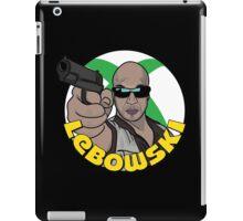 Blackie Lebowski iPad Case/Skin