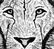 I ain't lion Sticker