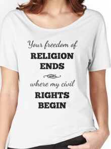 Freedom of Religion Civil Rights Women's Relaxed Fit T-Shirt